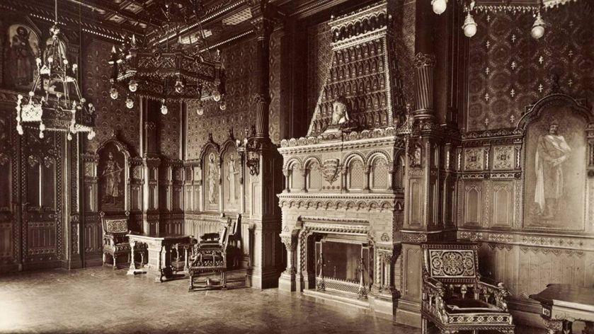 Szent István-terem archív kép -  Forrás: FSZEK Budapest Gyűjtemény